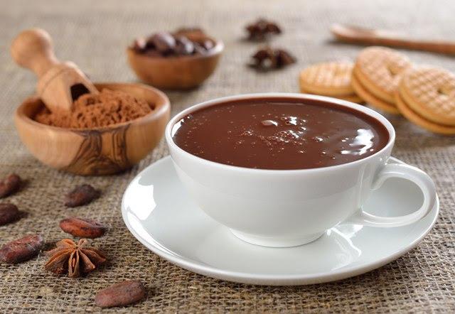 Шоколадный напиток во Франции