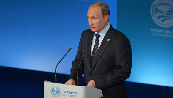 El presidente de Rusia, Vladimir Putin. Foto: Ria Novosti.