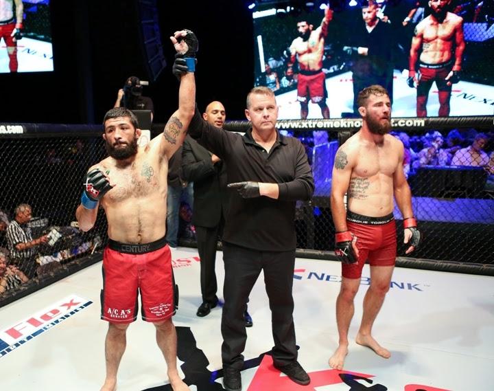 XKO 36 Fight 5 - Armando Villarreal vs Aaron Vickers-34