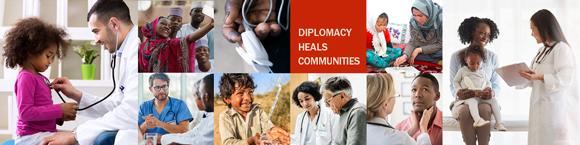 Diplomacy Heals Communities - Bureau of Medical Services