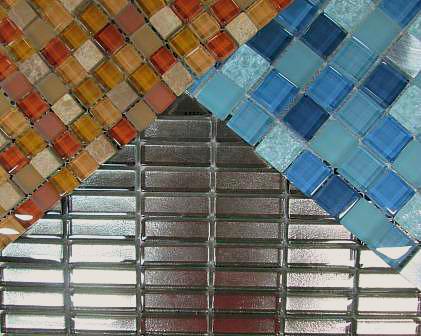glass  stone   metal