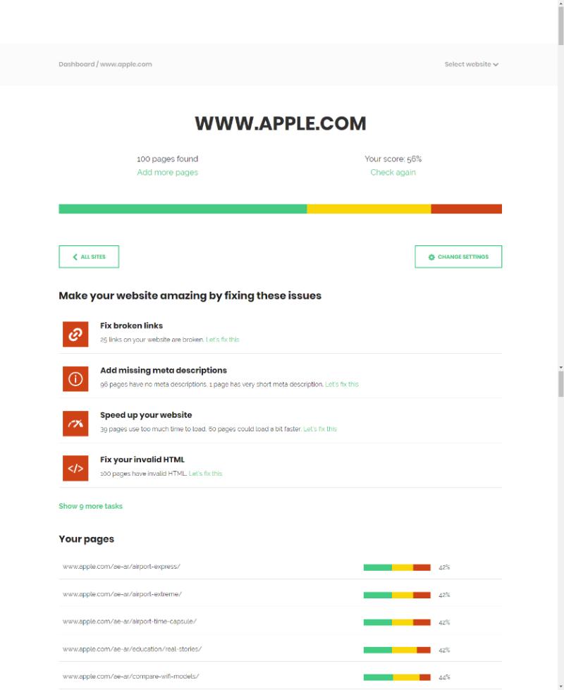 SiteGuru Website Auditor Preview 3