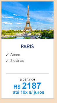 Paris / R$2187