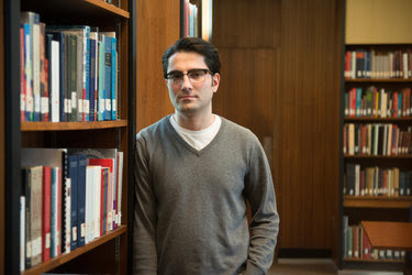 Omid Zobeiri, 28, at McGill University in Montreal. An Iranian citizen, he began working on his doctorate in biomedical engineering in 2015 and had hoped to move with his mentor and supervisor to Johns Hopkins University in the United States.