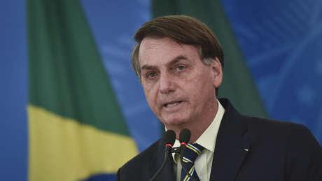 """""""Algunos van a morir, lo siento, pero así es la vida"""": Bolsonaro compara el coronavirus con las muertes por accidentes de tránsito"""