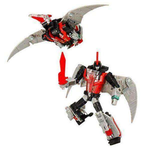 Image of Transformers Generations Selects Deluxe Red Swoop - Exclusive