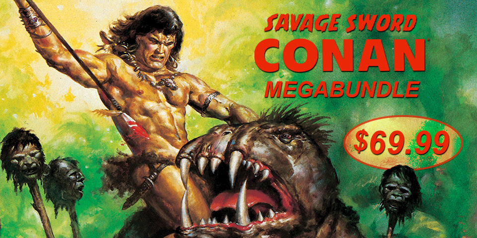 Savage Sword of Conan Megabundle