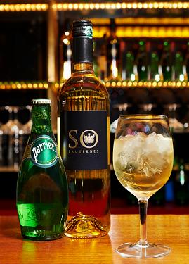 Avant-première : Sauternes-Perrier, le cocktail iconoclaste se défend