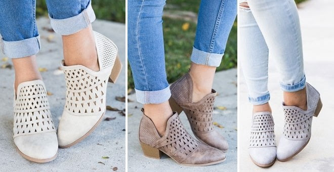 HOT!! Fashion Bootie Clearance...