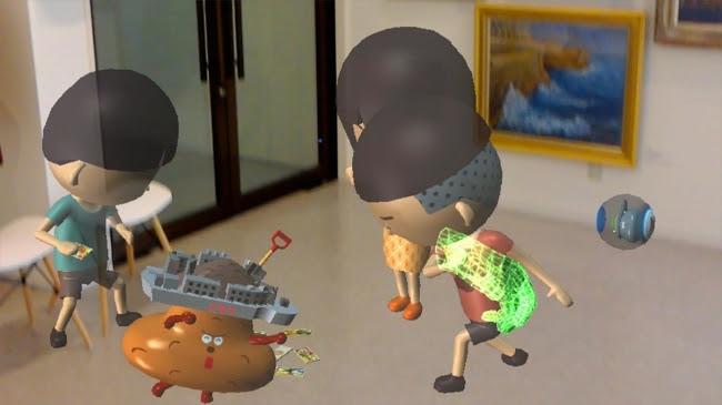 昭和の子供達の遊びMR展示