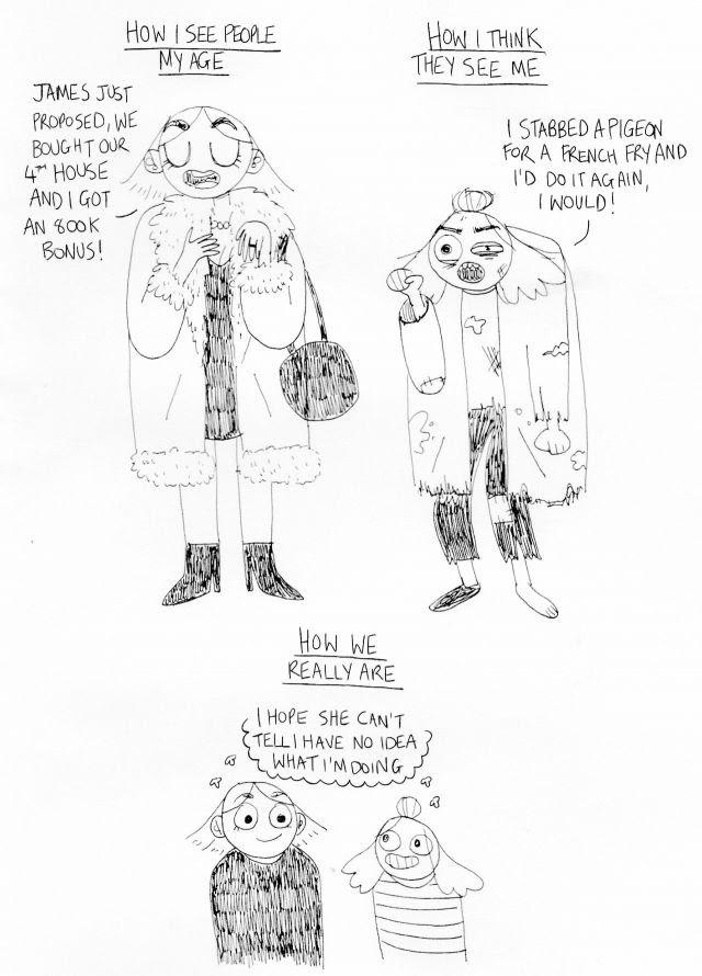 mythical millennial comic