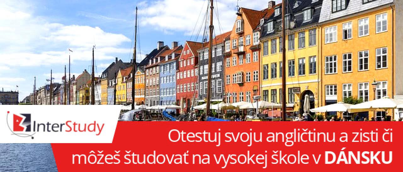 Beseda o štúdiu v Dánsku                                           a test z angličtiny už budúci                                           týždeň
