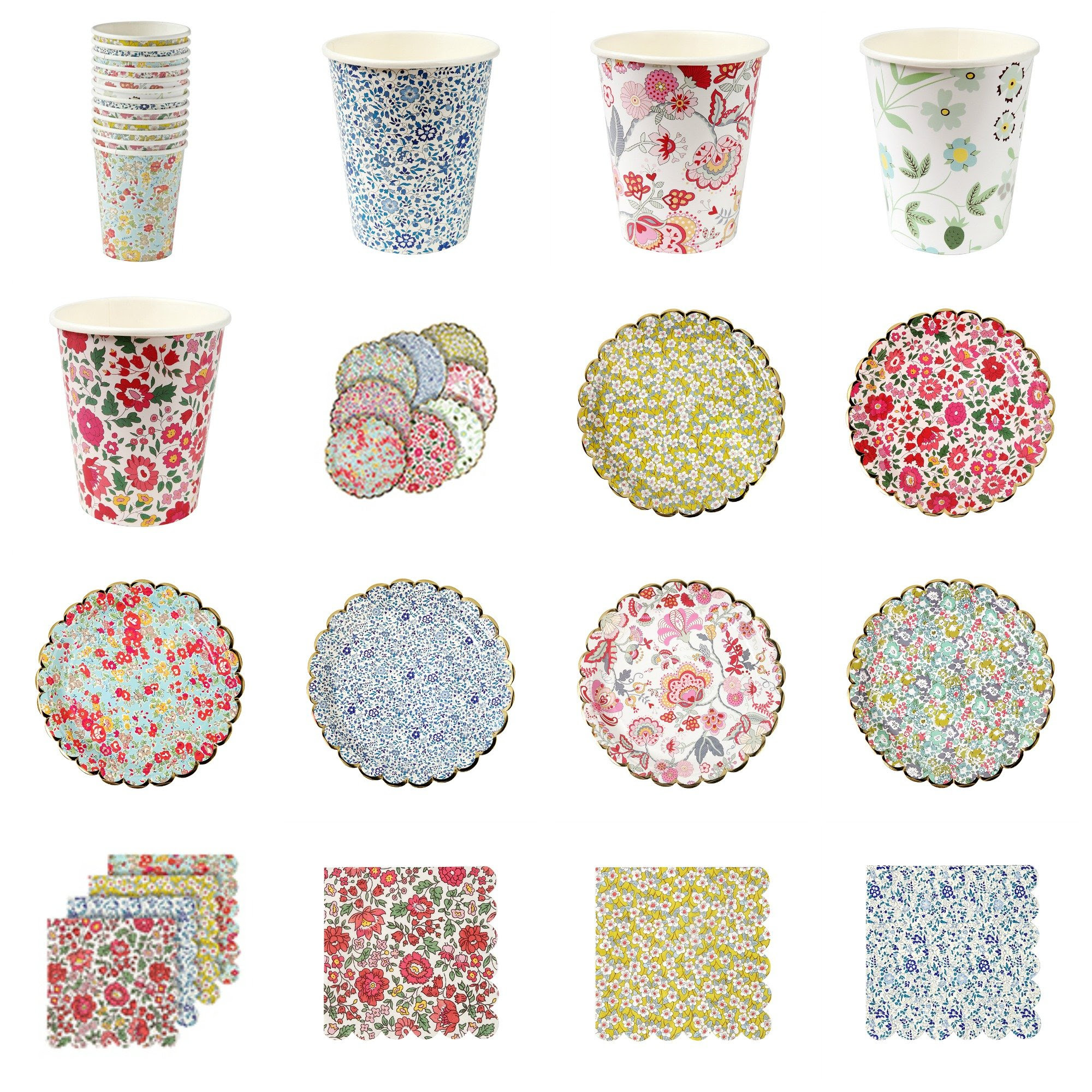Pop Roc Parties Blog | Meri Meri Liberty Party Supplies