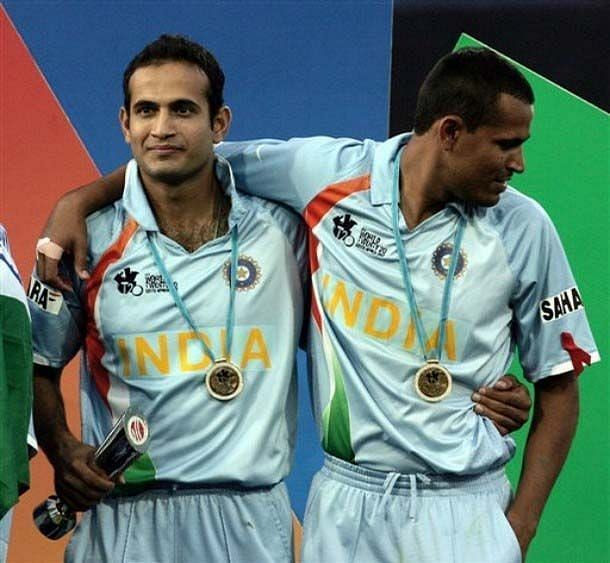 The Pathan Brothers played together for India in the 2007 T20 World Cup