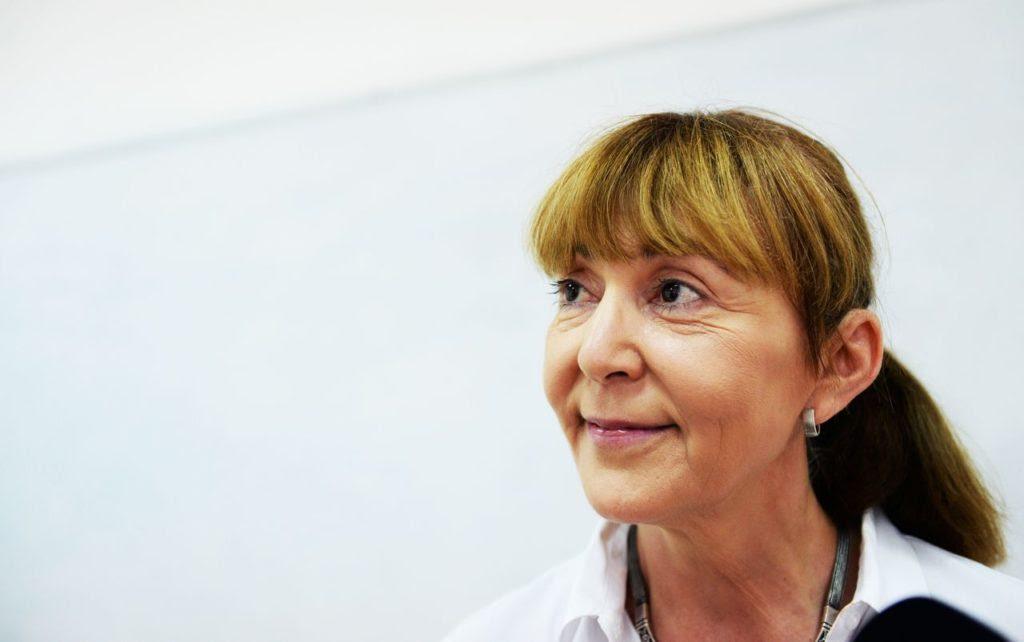 Monica Macovei, ministru al Justiției între decembrie 2004 și aprilie 2007. Foto: Silvana Armat / MediafaxFoto