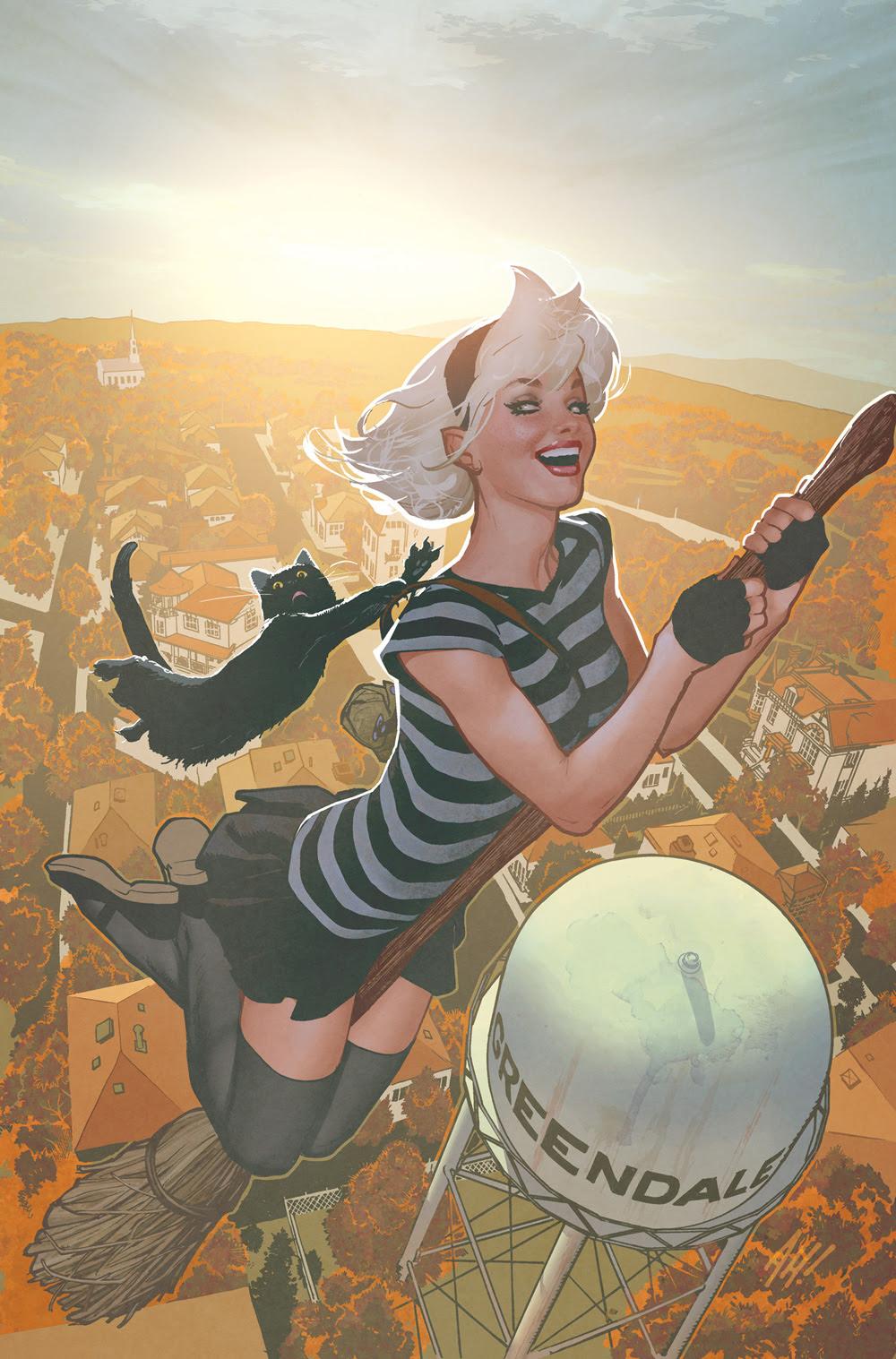 Sabrina the Teenage Witch #1: CVR C Hughes