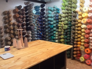Walls of yarn