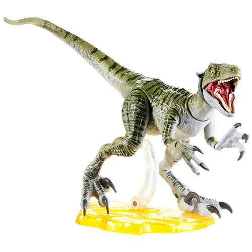 Image of Jurassic World Velociraptor Charlie Amber Collection Action Figure