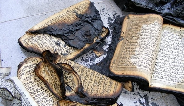 "India: Mosque caretaker admits burning a Qur'an and faking a ""hate crime"""