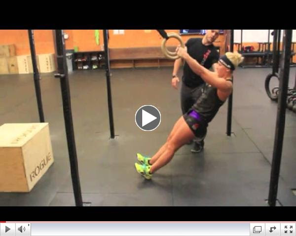 How to Do Ring Rows for CrossFit