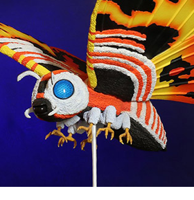 Godzilla vs. Mothra Toho Daikaiju Series Mothra