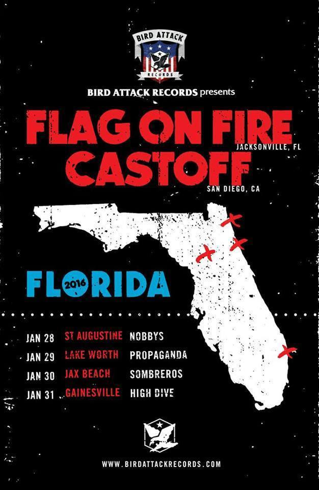 castoff fl tour flyer