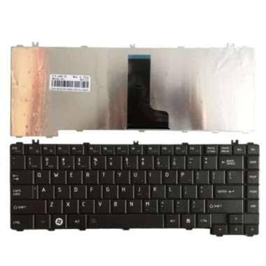 Asli Keyboard Toshiba C600 C640 - Hitam Diskon