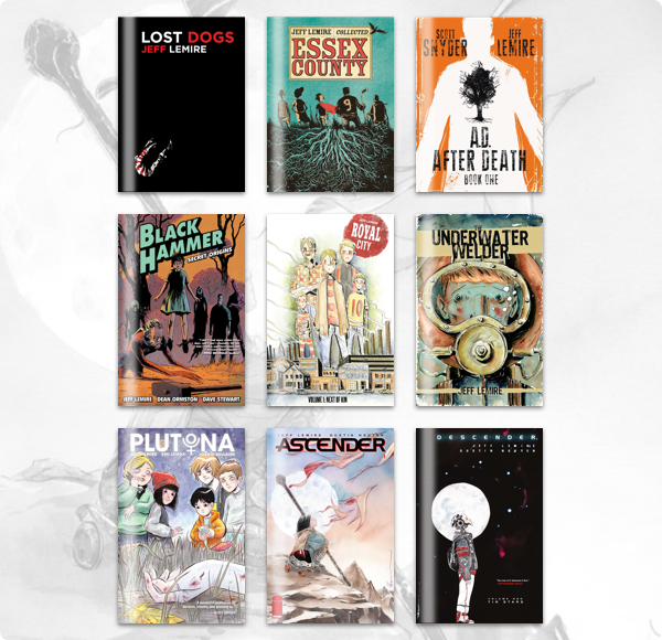 Humble Comics Bundle: Creator Spotlight Jeff Lemire