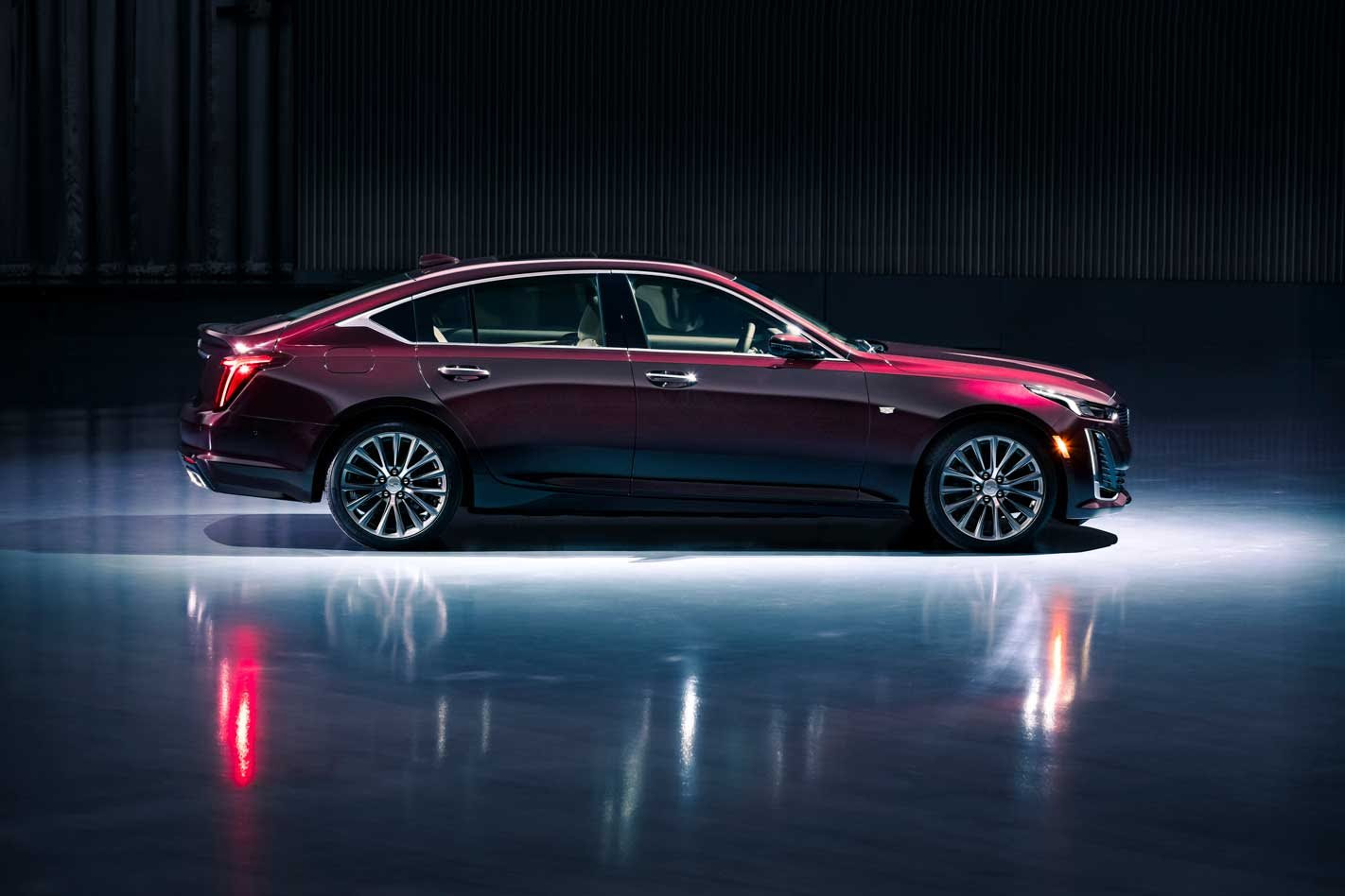 Cadillac CT5 side view