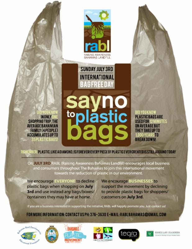 international bag free day, plastic
