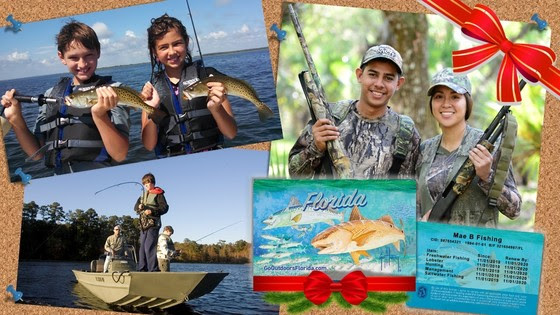 Hunting and fishing licenses