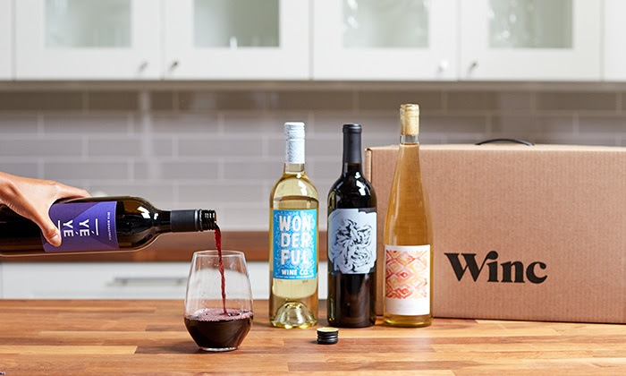 Winc Wine Of The Month Club (Choose Vegan), $60 and up @winc.com