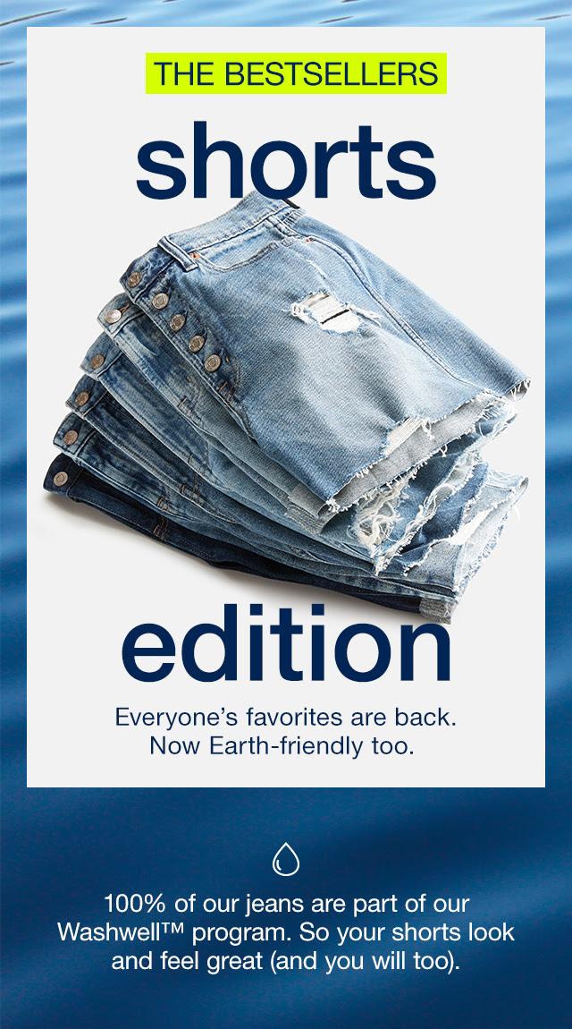 GAP: $10+ denim shorts you need now