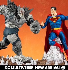 Dark Nights: Metal DC Multiverse Batman Earth -1 (The Devastator) & Superman Two-Pack