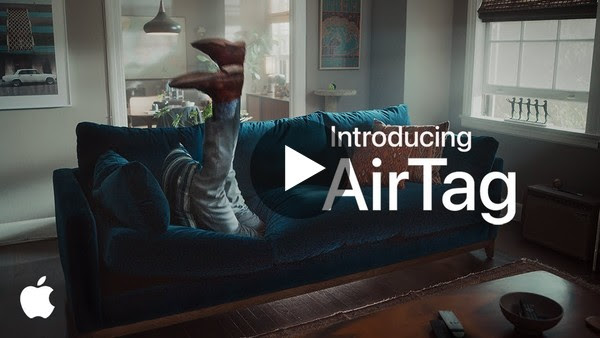 Introducing AirTag   Couch   Apple