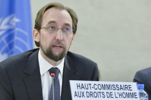 Zeid Ra'ad al Hussein Haut-commissaire de l'ONU aux droits de l'Homme