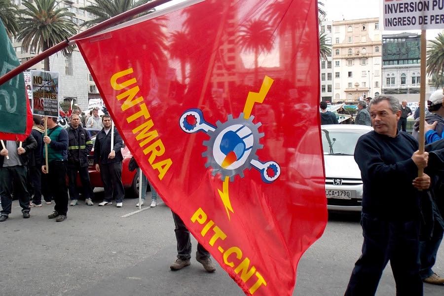 UNTMRA y los sindicatos de la industria salen a las calles en masiva movilización