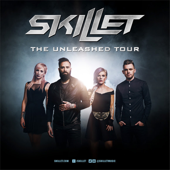 Skillet - The Unleashed Tour