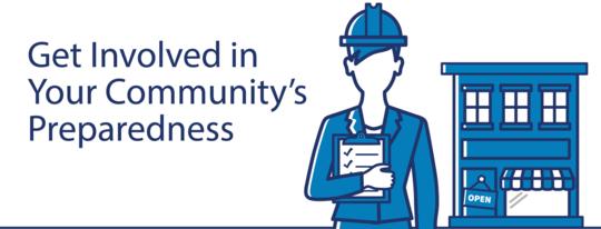 Get involved in your community's preparedness