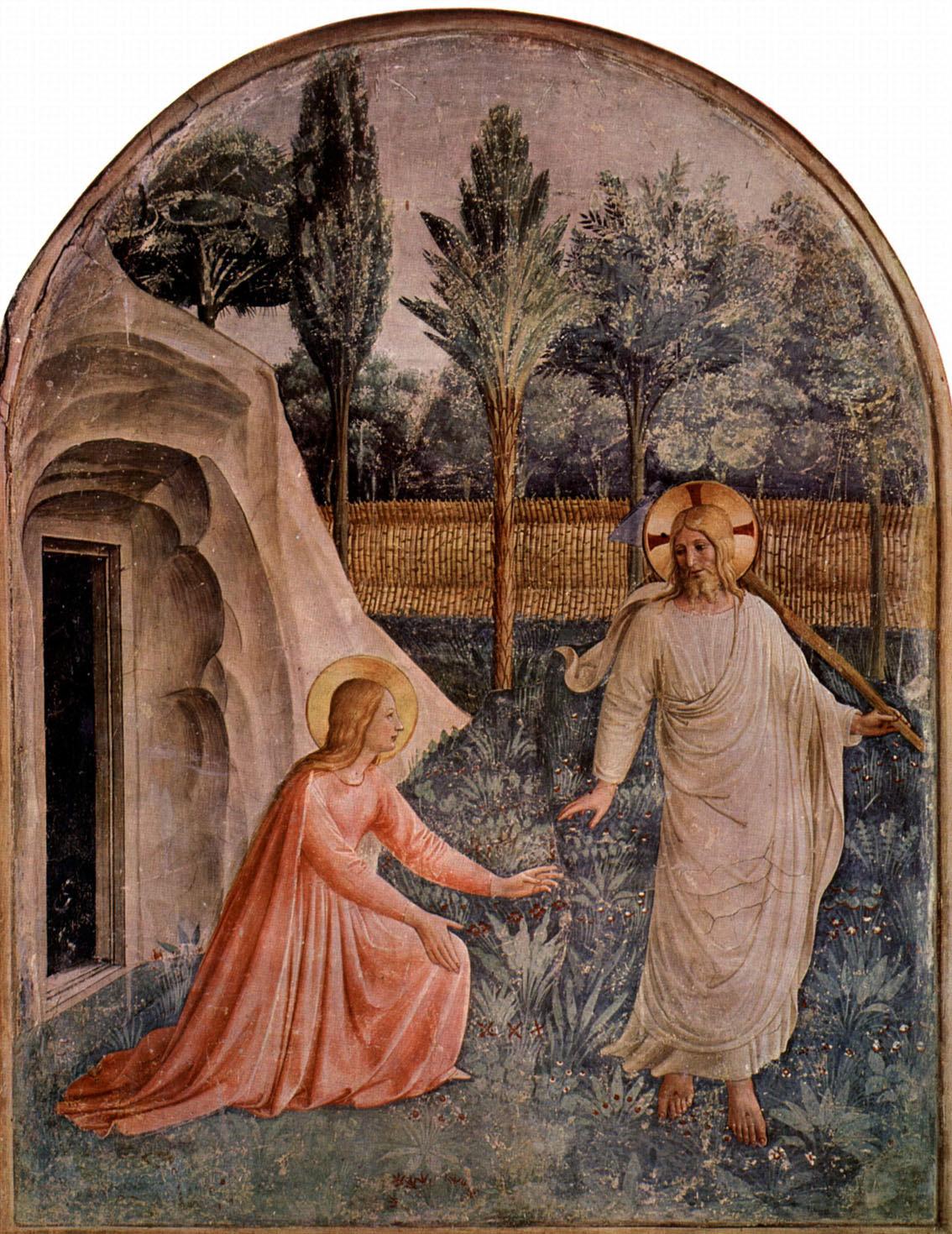 Noli me tangere (h. 1437-46).