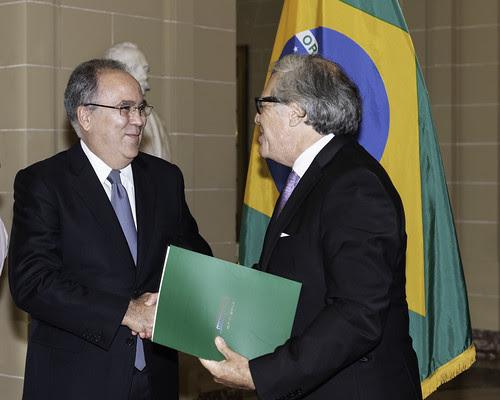 Nuevo Representante Permanente de Brasil ante la OEA presentó cartas credenciales