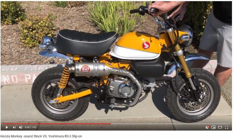 Yoshimura Monkey Exhaust Motorcycle Com News