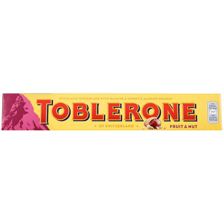 Toblerone Fruit & Nut 100g