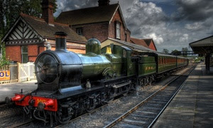 Ongar Steam Train Tour, Essex