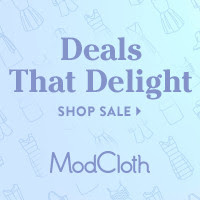 #ModCloth Revel in Rewards Sale!