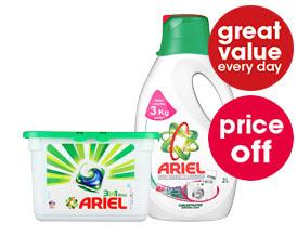 Price off - Ariel