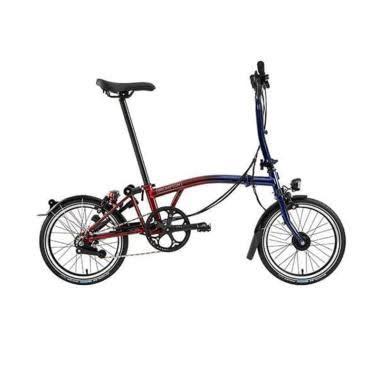 Brompton M6L Nine Street Sepeda Lipat