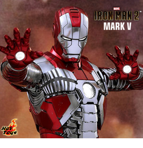 1/6 SCALE IRON MAN MARK V DIE-CAST FIGURE