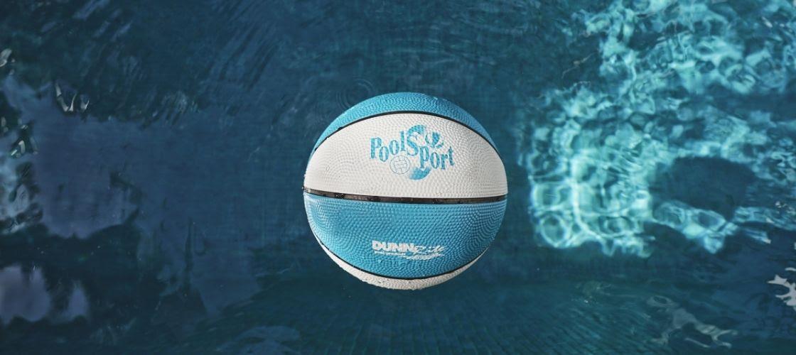 pool basketball and volleyball balls