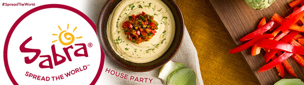 Sabra® Spread the World House Party House Party